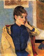 Paul Gauguin Portrait of Madelaine Bernard oil painting reproduction